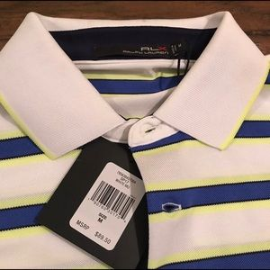 RLX Ralph Lauren Shirts - RLX Ralph Lauren Medium Golf Polo NWT